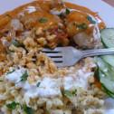 chicken paprikash with nokedli