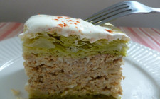 Layered savoy cabbage - rakott kel