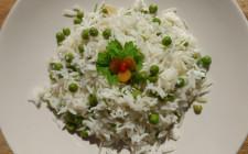 Rizibizi, Rice with Peas