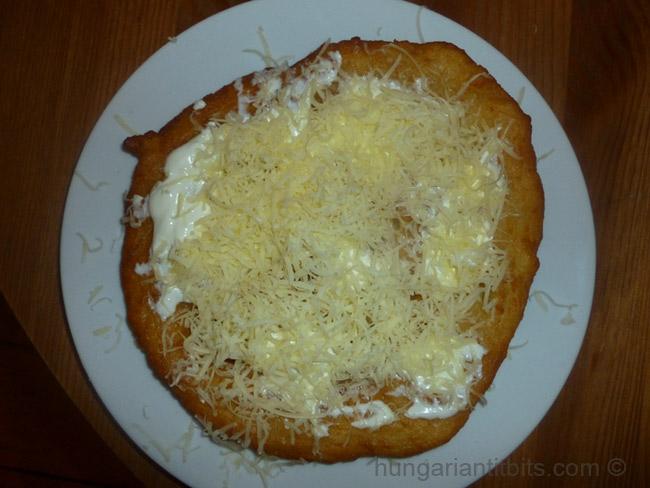 Hungarian Lángos
