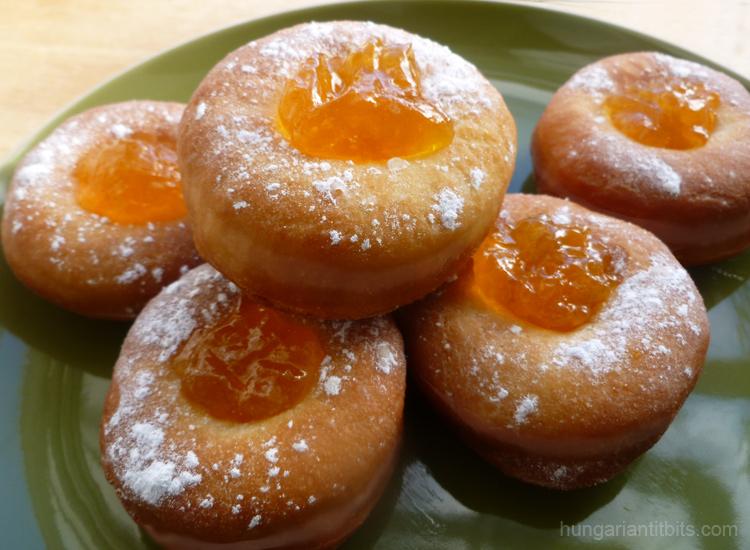 Hungarian doughnuts