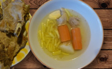 hungarian clear broth