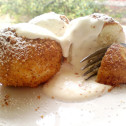 turogomboc, hungarian quark cheese dumplings