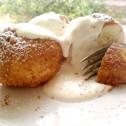 turogomboc, hungarian quark cheese dumplings
