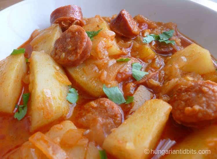 Hungarian Paprika potatoes