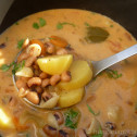 hungarian bean soup